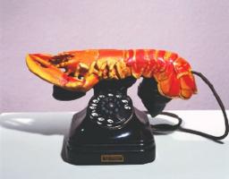 Сальвадор Дали. Телефон в виде лобстера
