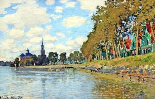 Claude Monet. Zaandam