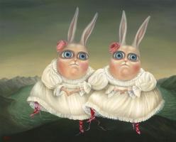 Irena Aizen. Dancing Twins