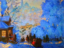 Boris Kustodiev. Winter