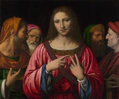 Бернардино Луини. Христос среди врачей