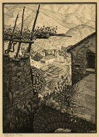 Мауриц Корнелис Эшер. Турелло, Южная Италия