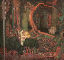 Ян (Йоханес) Теодор Тороп. Темный лес