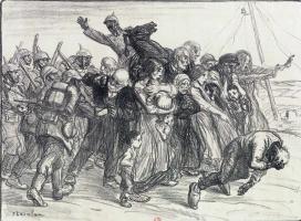 Теофиль-Александр Стейнлен. Французские солдаты