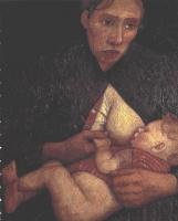 Паула Модерзон-Беккер. Кормление грудью