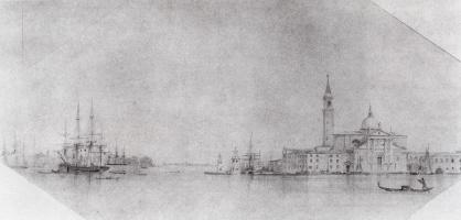 Ivan Aivazovsky. Venice. Sketch