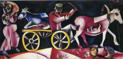 Marc Chagall. The cattle dealer