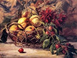 Таня Аксюк. Персики и Крабовые яблоки
