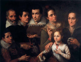 Лавиния Фонтана. Семейный портрет