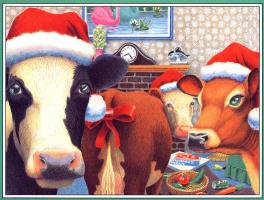 Даниэль Лейн. Рождественские коровы