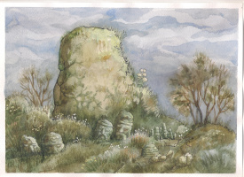Хиус Мазур. Старый камень
