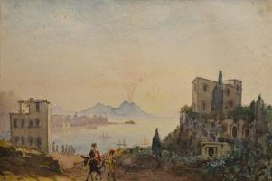 Ivan Aivazovsky. Italy. The View Of Vesuvius
