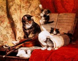 Генриетта Роннер-Книп. Музыкальный урок