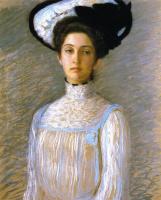 Лила Кэбот Перри. Алиса в белой шляпе