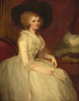 George Romney. Mrs. Alexander Blair