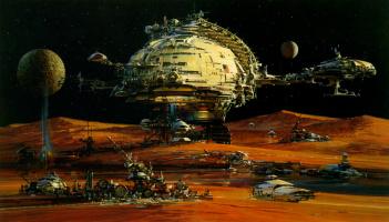 Джон Берки. Космическое поселение
