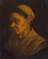 Леандро Бассано. Портрет старушки