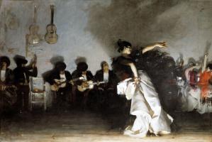 John Singer Sargent. El Jaleo