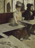 Эдгар Дега. В кафе