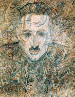 Павел Николаевич Филонов. Портрет Н. Глебова-Путиловского