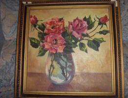 Евдокия Васильевна Смирнова. Розы
