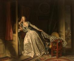 Jean Honore Fragonard. Stolen kiss