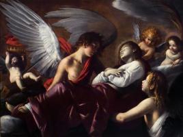 Джованни Бальоне (Баглионе). Вознесение святой Екатерины Александрийской