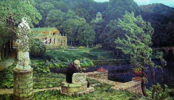Аполлинарий Михайлович Васнецов. Шум старого парка (Все в прошлом)