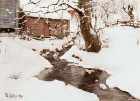Фриц Таулов. Зима на острове Сторд