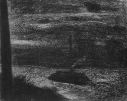 Georges Seurat. Steamer