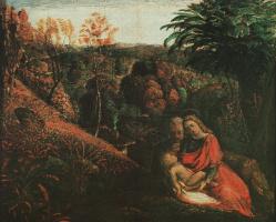 Паломник. Богородица с младенцем
