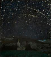 Franz von Pieces. Falling stars. 1912