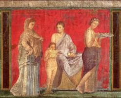 Unknown artist. Villa of Mysteries, Pompeii
