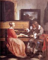Габриель Метсю. Мужчина и женщина