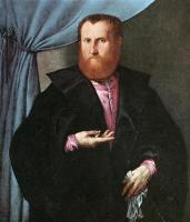 Лоренцо Лотто. Мужчина