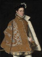 Sofonisba Angisola. Portrait of Prince Alessandro Farnese