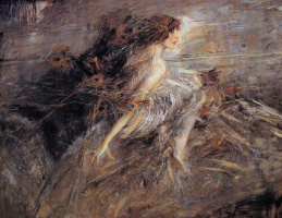 Джованни Больдини. Портрет маркизы Луизы Казати