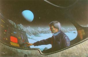 Кевин Уорд. Полет в космос