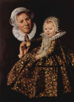 Франс Халс. Кормилица с ребенком