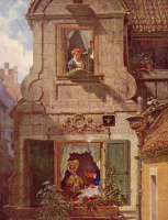 Are Still Carl Spitzweg. The intercepted love letter