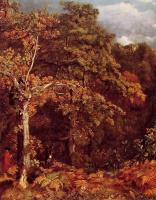 Джон Констебл. Лесной Пейзаж