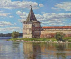 Олег Борисович Захаров. Between the lake and the sky.