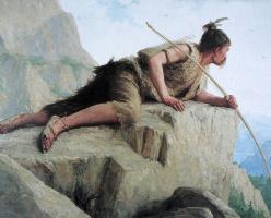 Альберт Анкер. Охотник