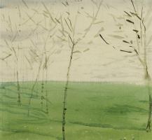 Константин Андреевич Сомов. Весенний пейзаж