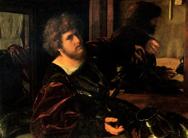 Джованни Джироламо Саволдо. Портрет художника