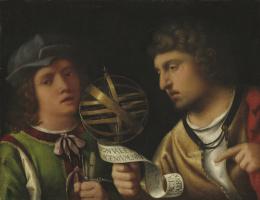 Giorgione. Giovanni Borgerini and his mentor