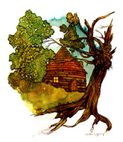 Cottage on the tree