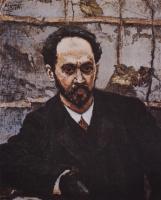 Василий Иванович Суриков. Портрет И. Е. Крачковского