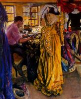 Лора Найт. Женщина в желтом платье