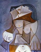 Пабло Пикассо. Голый в кресле